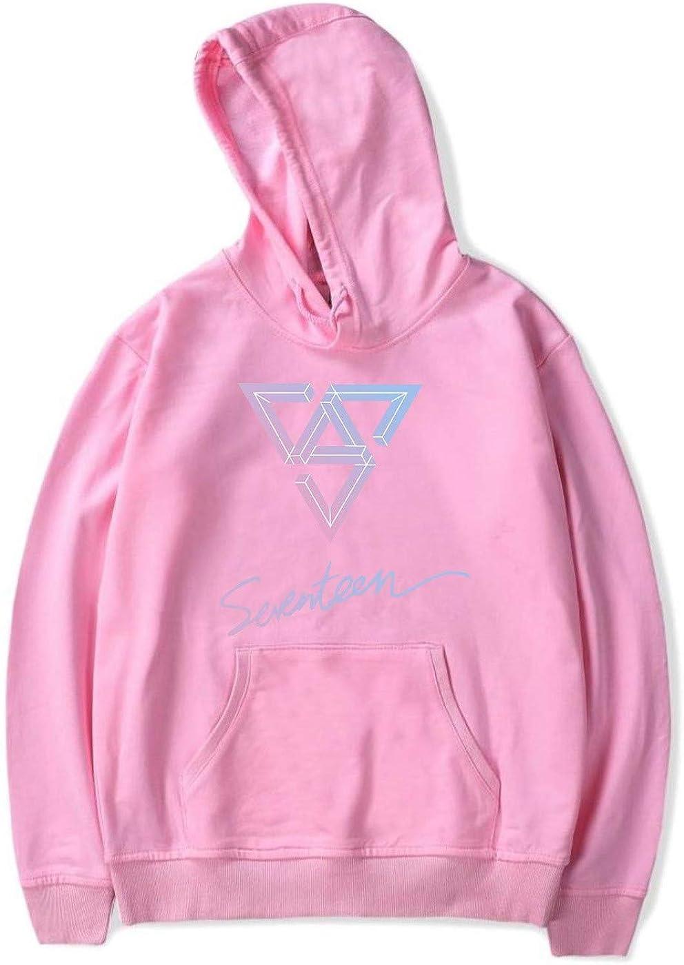 SERAPHY Unisex Seventeen Hoodie 17 Kpop Pullover Hooded Sweatshirt Autumn Winter Long Sleeve Top