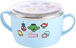 MINISO Marvel Bento box Large, Stainless Steel Food Container, Cute Cartoon Lunch Box for Adults BPA-FREE