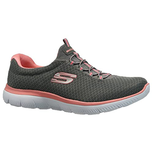 e05b9a78be7b SK Ladies Skechers Memory Foam Lightweight Fitness Running Walking Trainers  Shoes  Amazon.co.uk  Shoes   Bags
