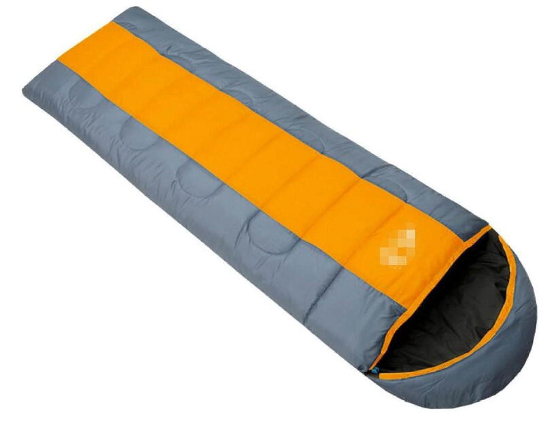 Bolsas De Dormir Al Aire Libre Espesamiento Cálido Descanso Primavera Y Otoño Adulto Dormir Bolsas Camping Descanso Cálido Para El Almuerzo,Naranja b411f2