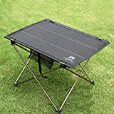 Outdoor Folding Picnic Table Desk BBQ Barbecue Tea Gate-Leg Table Aluminium Alloy Camping Hiking