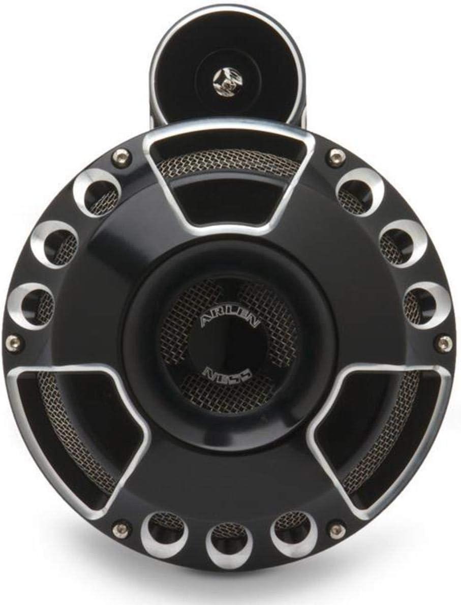 Arlen Ness 70-200 Black Billet Horn Kit Deep//Cut
