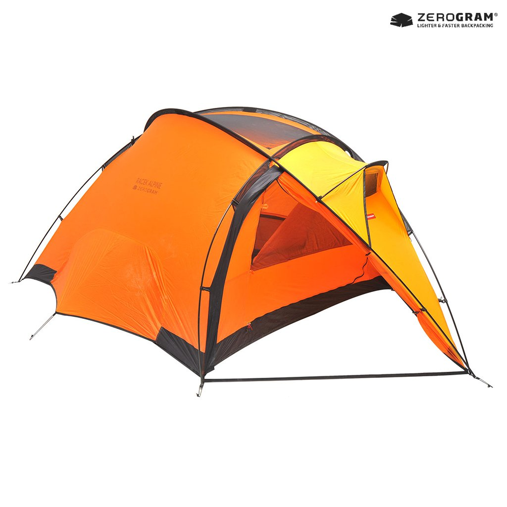 [ZEROGRAM] For the Extreme Explorers 3 Person / Racek Alpine 3 / Orange Color by ZEROGRAM