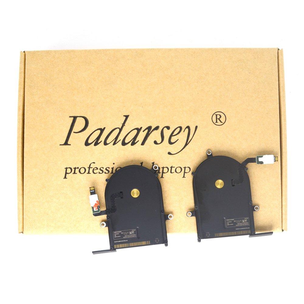 Padarsey New CPU Fan Cooling Fan Set for MacBook Pro 13-Inch Retina A1425 Fan Late 2012, Early 2013