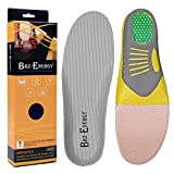 Othopedic Insoles Breathable High Elasticity EVA Shockproof Orthotic Inserts Arched Shoe-Pad for Relieve Flat Feet, Size3-12