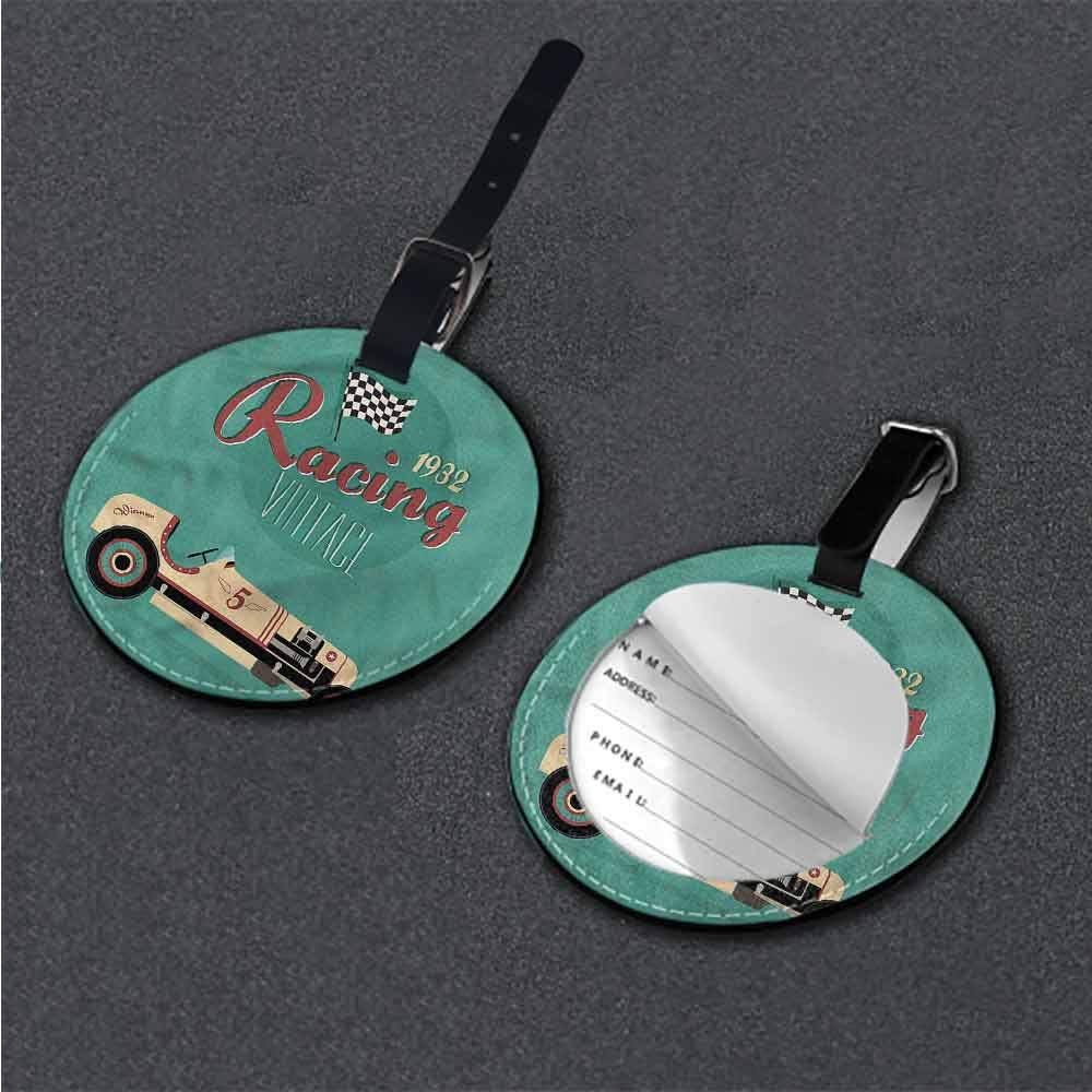 Favorite brand luggage tags Cars,Vintage Sports Vehicle Good-looking