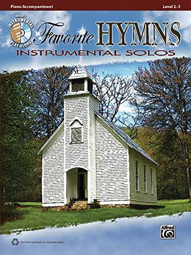Free Favorite Hymns Instrumental Solos: Piano Acc., Book & CD