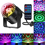 Comwinn Disco Lights Sound Activated Strobe Light Disco Ball Dj Lights...