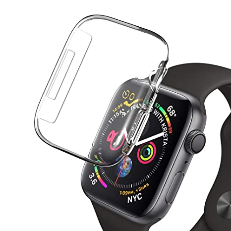 SLEO Funda para Apple Watch Series 4 Cobertura Completa de ...