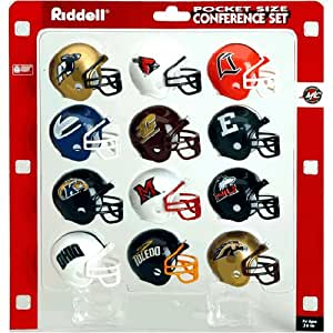 MAC Conference ''''Traditional'''' Pocket Pro NCAA Conference Set by Riddell