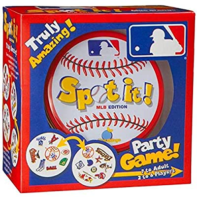 Spot-It MLB Edition Baseball Party Card Game: Toys & Games