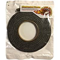 LavaLock® Self Stick BBQ Gasket Grey High Temp Smoker Gasket Charcoal Grill Seal - Factory Shorts