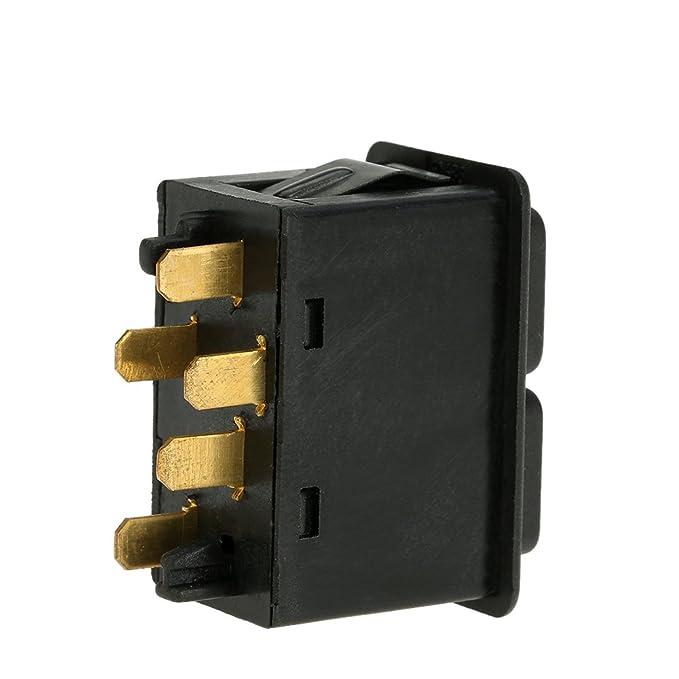 KKMOON Auto Elektrische Fensterheber Schalter Taste Control Lifter 5 Pin f/ür BMW E23 E24 E28 E30 61311381205