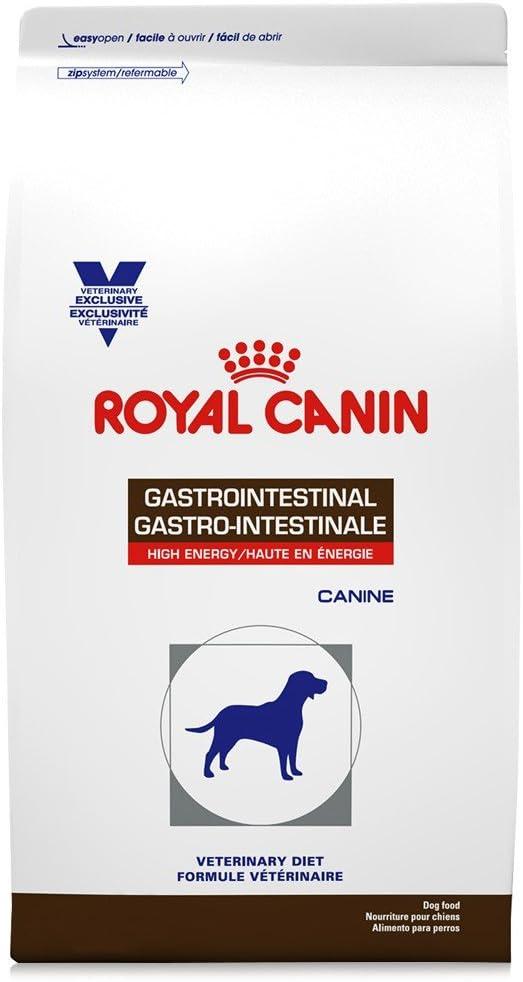 Royal Canin Veterinary Diet Canine Gastrointestinal High Energy Dry Dog Food, 22 lb