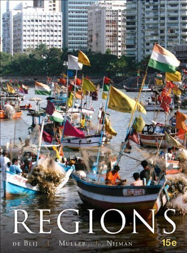 Geography: Realms, Regions and Concepts by de Blij, H. J., Muller, Peter O., Nijman, Jan 15th (fifteenth) Edition [Hardcover(2011)]