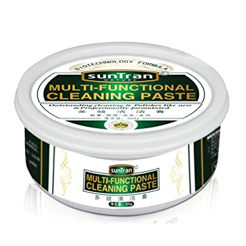 66418c3595 Limpiador de Acero Inoxidable y Pasta de Pulido 300 g Limpieza de Manchas de  óxido Multifuncional
