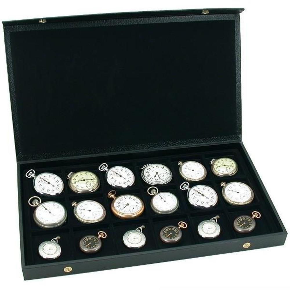 Generic yc-us2 – 160428 – 85 < 8 & 35271 > watcheseボックスfor 1ストレージポケット時計表示用ボックスケース18 WatchesポケットWatc B01EWRXAO4