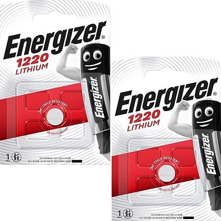 Energizer Cr1220 Lithium Batterien 3 V 2 Stück Elektronik