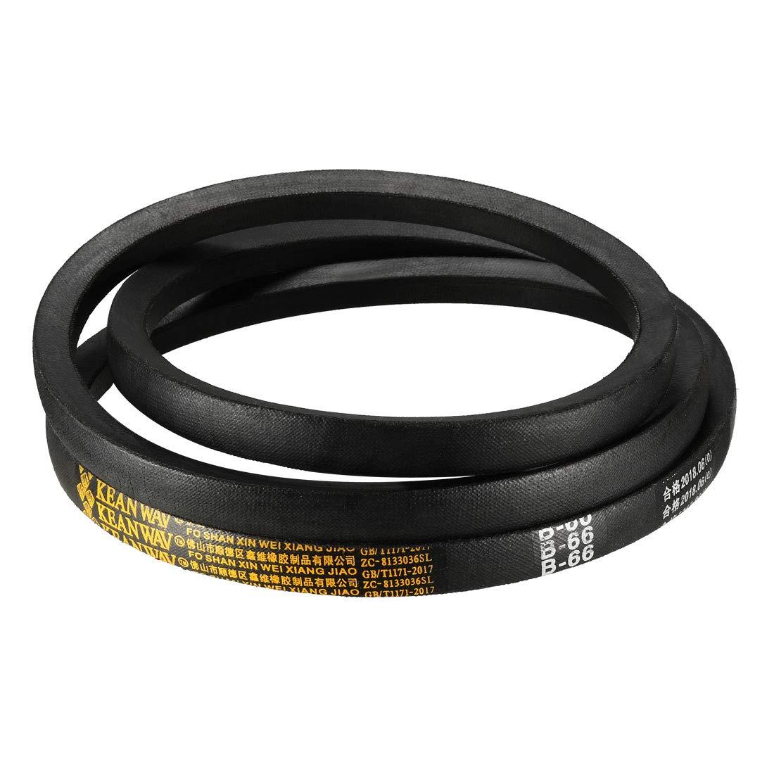 uxcell/® B70 Drive V-Belt Girth 70-inch Industrial Power Rubber Transmission Belt