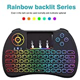 Best leegoal Mouse Pads - Leegoal Mini Wireless Keyboard, 2.4GHz Colorful Backlit H9 Review