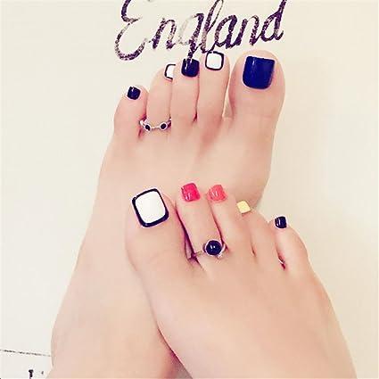 Punta de uñas punta de arte y pegamento artificial uñas postizas longitud perfecta colorido color puro