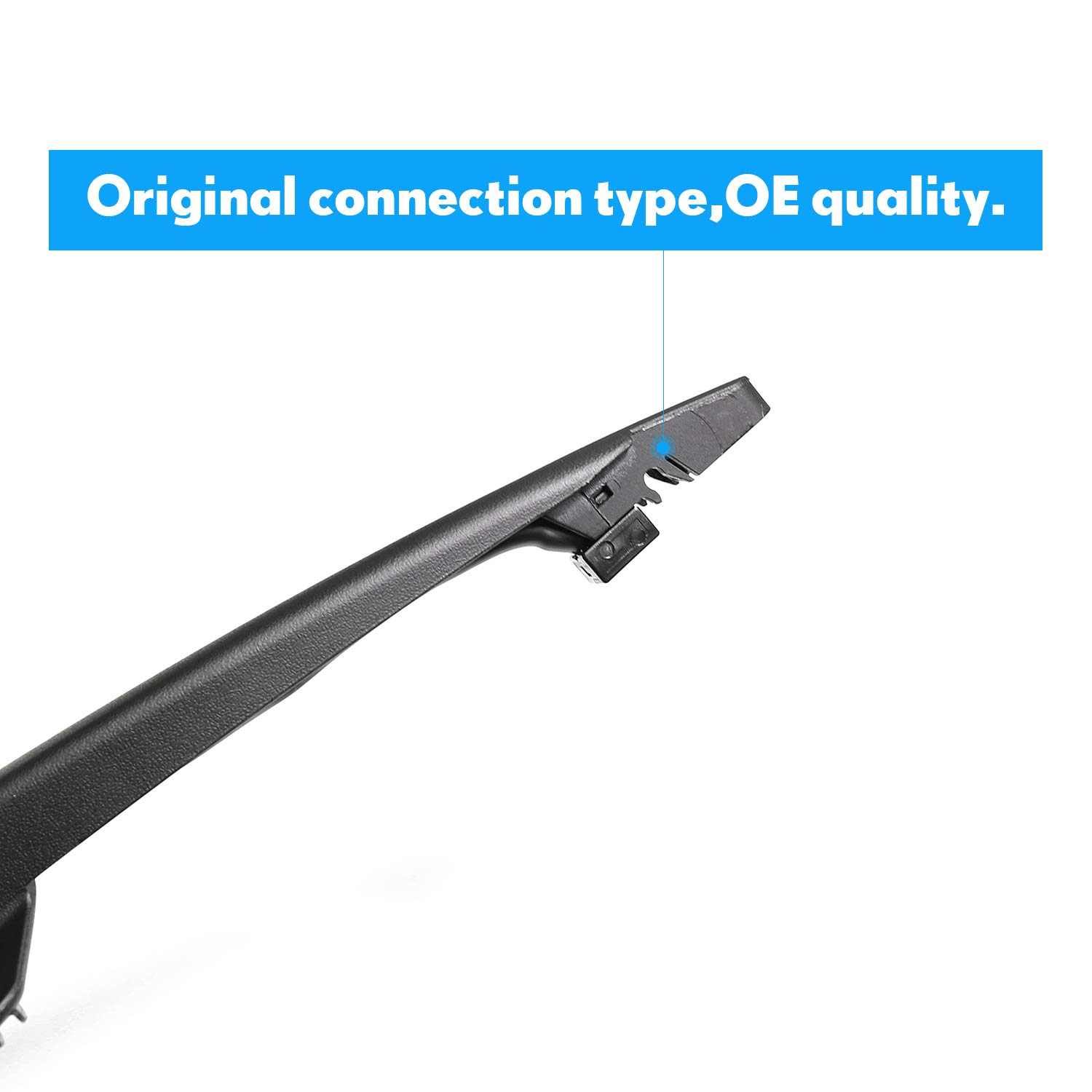 Rear Wiper Arm and Blade Set for Buick Enclave 2008-2013 ASLAM Rear Windshield Wiper Arm Replacement Assembly