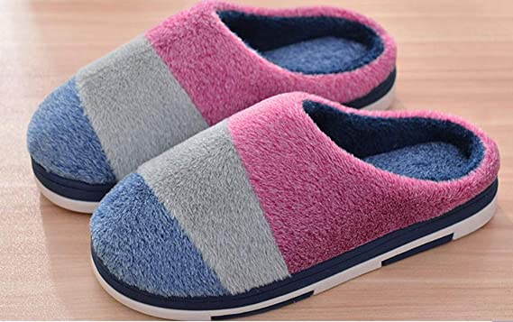 Amazon.com: Culturemart Soft House Slippers Women Men Home Shoes Cute Bedroom Foot Warmer Japanese Indoor Slippers Faux Fur Pantufa Zapatillas Casa ...