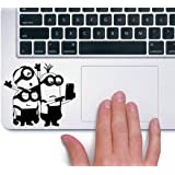 KaaHego Skin Sticker Decal Laptop Skin Sticker for Minion Taking Selfies Disney Black