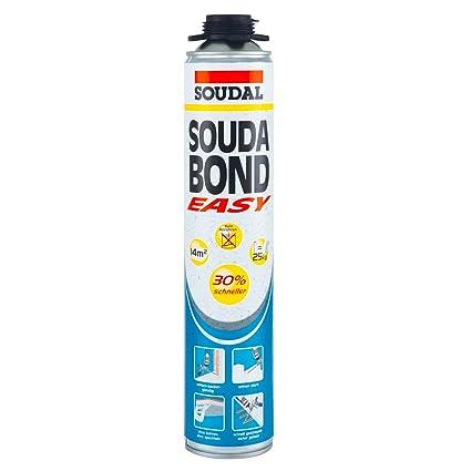 SOUDAL Soudabond EASY adhesiva aislante - Pistola de espuma 800 ml