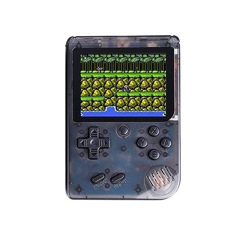 92ca3cfc51c Amazon.com  Owill Classic Mini Handheld Game Console 3 Inch LCD 168 ...