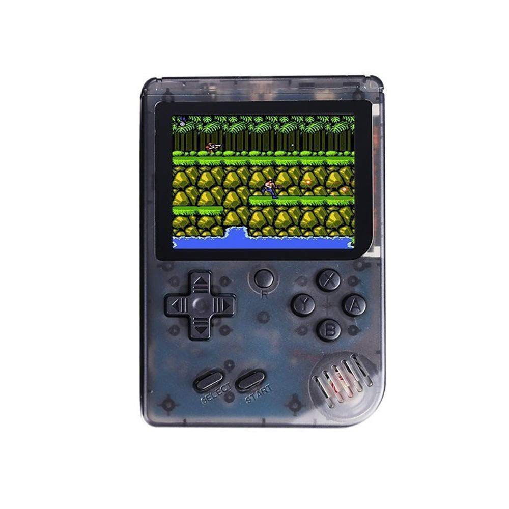 Cywulin Retro Mini Handheld Video Game Player FC Console Gameboy Built-in 168 Classic Games Travel Portable Gaming System Electronics Machines 3 Inch Support TV Play Present for Boy Kids Adult (Black)