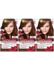 Garnier Color Sensation Hair Color Cream, 5.5 Medium...