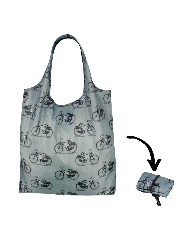 Re-Uz Lifestyle Shopper - pieghevole borse della spesa riutilizzabili - Vintage bikes Biciclette AMZ1501-VB