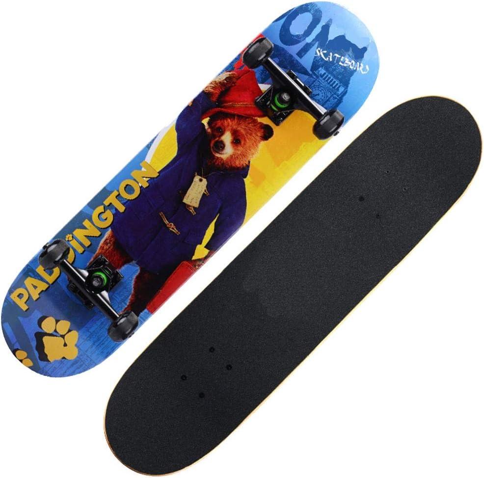 TLMYDD スケートボード初心者四輪スクーターアウトドアスポーツ玩具ドリフトボード スケートボード