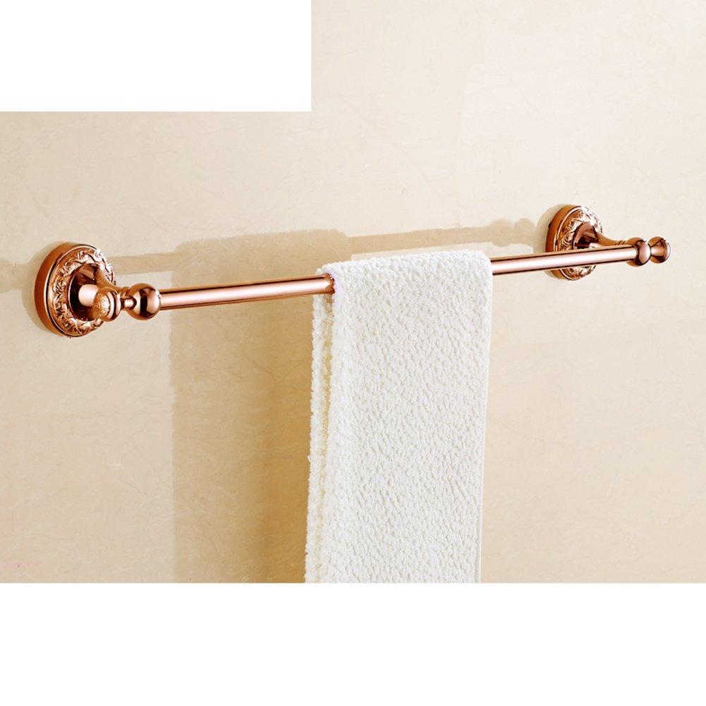 on sale European solid brass Towel rack/Towel Bar/Bathroom Towel Bar-Q