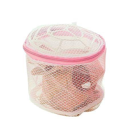 Conveniente sujetador lencería lavar la ropa bolsas para ropa sucia Home con lavado Net