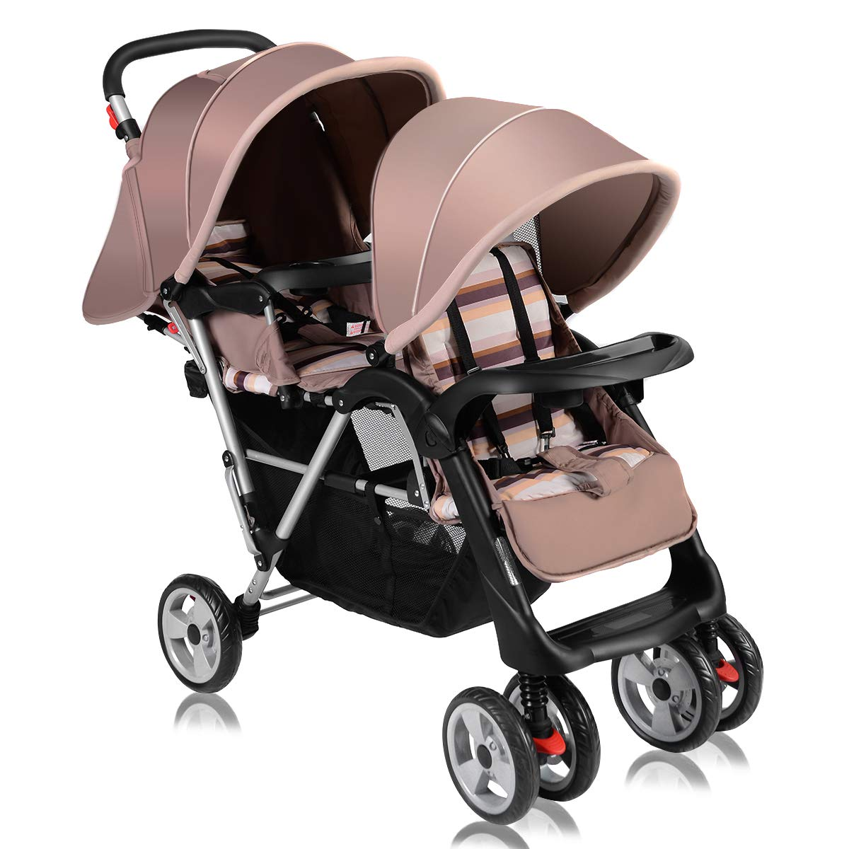 6a65d83d3 Amazon.com   Costzon Double Stroller