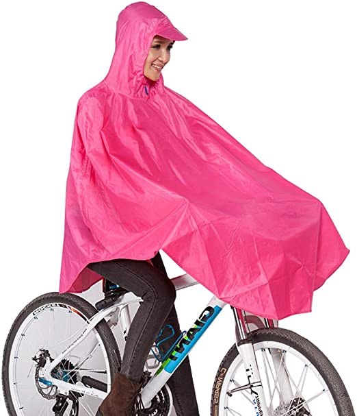 QIYUEYU Impermeable, Bicicleta De Montar Al Aire Libre ...