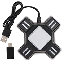 Gamepad Converter, Consola de Juegos portátil Gamepad Controller Ratón Teclado convertidor para PS4 / Switch