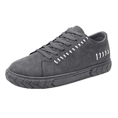 2019Casual Dedo del Pie Redondo SóLido con Cordones De Los Zapatos De Lona De La Junta Zapatos De Moda De Los Hombres Bajos Zapatos: Amazon.es: Zapatos y ...