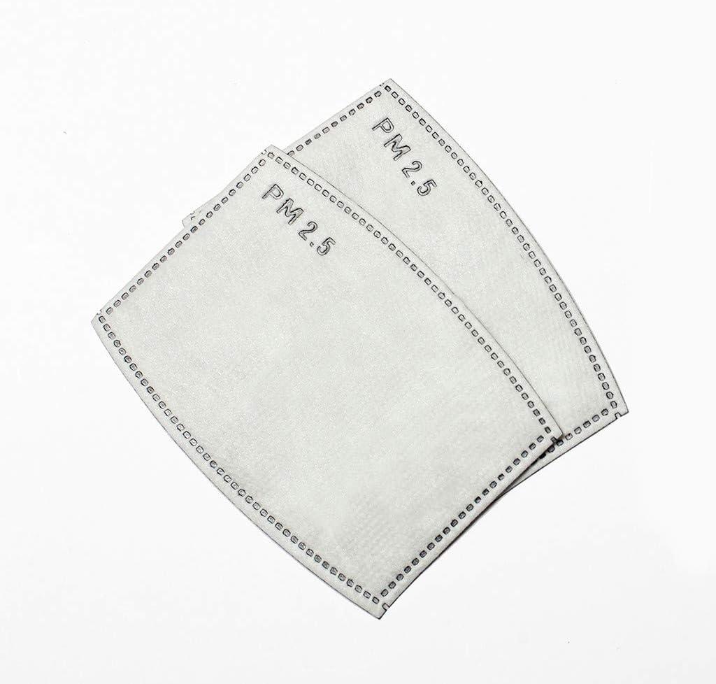 Ajustable para Los O/ídos para 5-12 a/ños Ni/ños NKZ-0428A05 Pack 2 unidades NINGNETI Infantil Antipolvo Reutilizable y Lavable Faciales visera con Carb/ón Activado Filtro