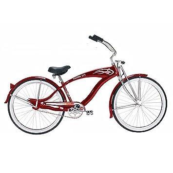 Micargi Gts Beach Cruiser Bike Red Falcon 26 Inch
