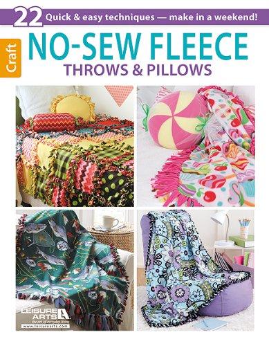 No-Sew Fleece Throws & Pillows PDF