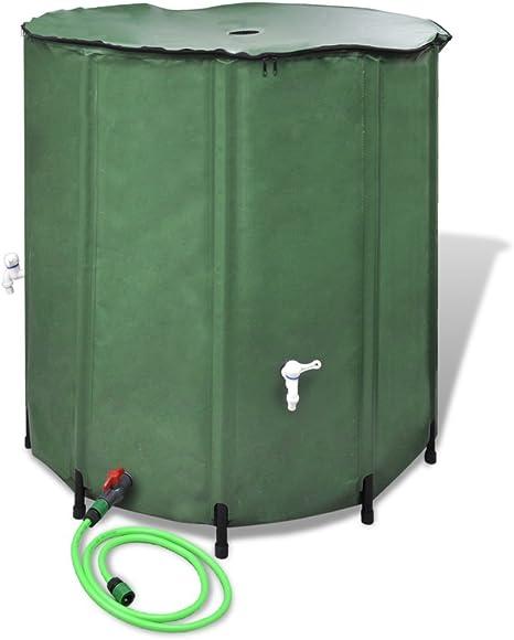 vidaXL Tanque Plegable para Agua de Lluvia 750 L Jardín: Amazon.es: Hogar