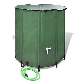 Fantastisch vidaXL Regentonne Regenwassertank Wassertank Regenwasserfass  WH08