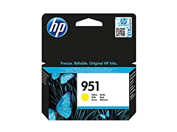 1 Tinten-Patrone Original Tinte HP 951 CN 052 A Gelb 700 Seiten