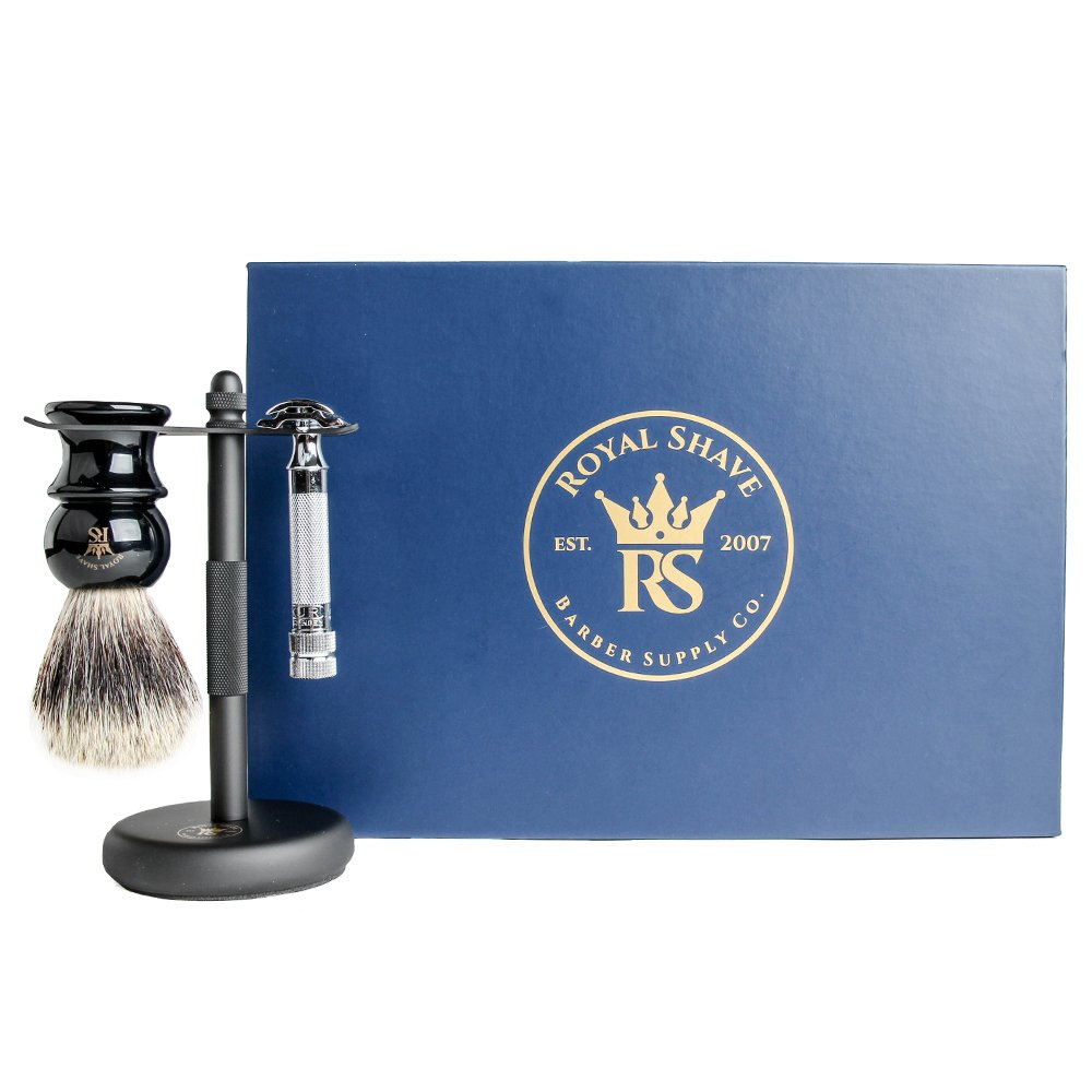 Merkur 34c Essential Safety Razor Shaving Set
