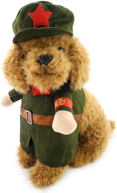 Ranphy - Disfraz de Perro para Mujer con Sombrero y Soldado ...