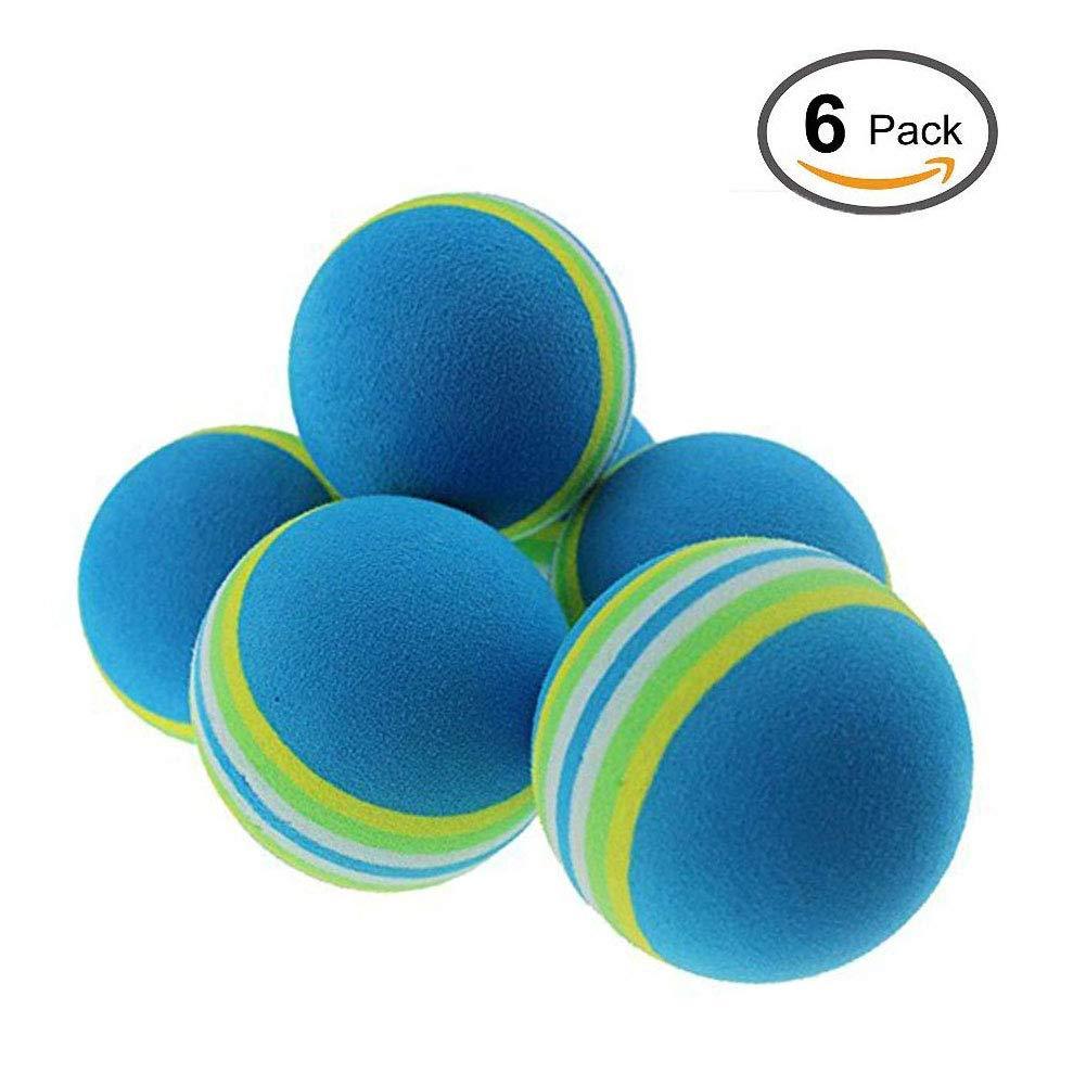 ソフトボールフォーム練習用ゴルフボール(ブルー)   B07FRFPTLC