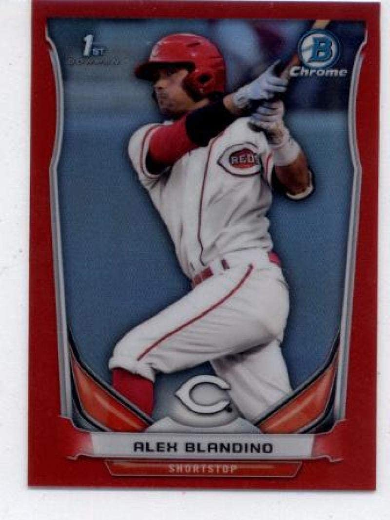 2016 Bowman Chrome 2015 AFL Fall Stars Game #AFL-AB Alex Blandino Reds Baseball Card NM-MT